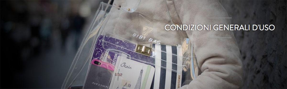 Condizioni Generali d'uso Bibi Bag