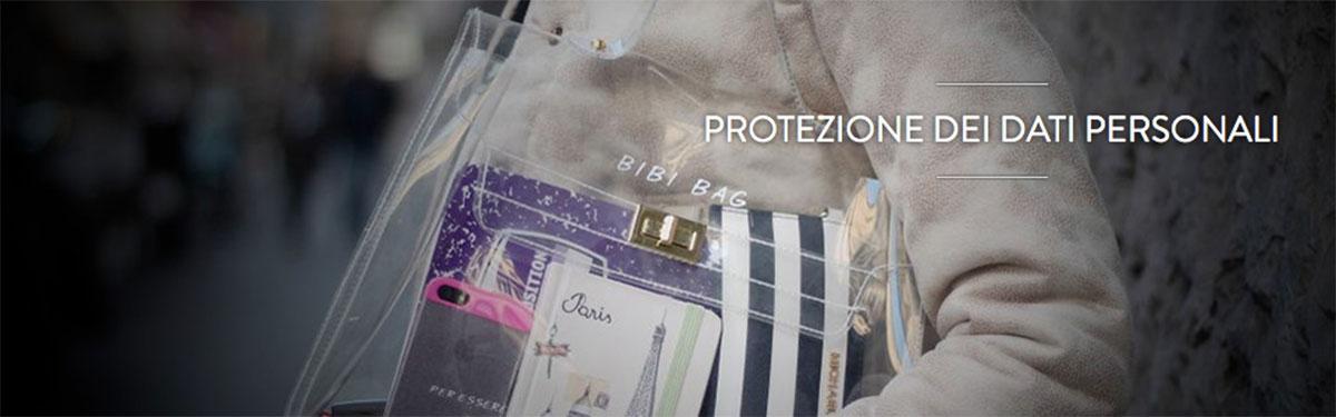 Protezione dei dati personali | Bibi Bag